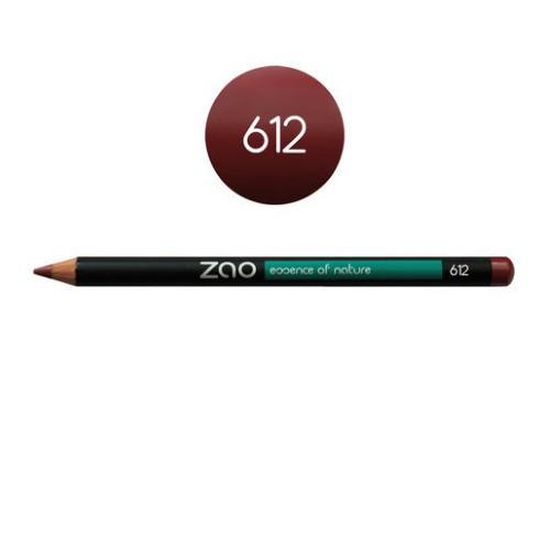 Crayon Yeux et Lèvres Bordeaux 612 Zao - Ma Planète Beauté
