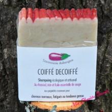 Shampoing Artisanal Coiffé Décoiffé - Savonnerie Aubergine
