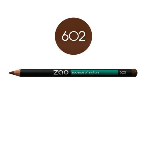 Crayon Yeux Brun Foncé 602 Zao - Ma Planète Beauté
