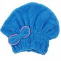 Bonnet Microfibres bleu