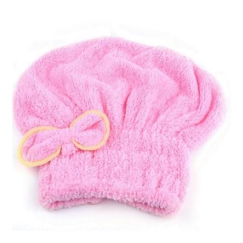 Bonnet Microfibres rose clair