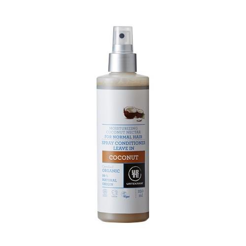 Démêlant Spray Noix de Coco Leave-In 250ml Urtekam - Ma Planète Beauté
