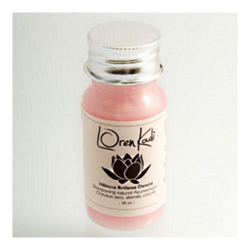 Mini Shampoing Hibiscus Brillante Densité - Cheveux secs, abîmés, colorés - Loren Kadi