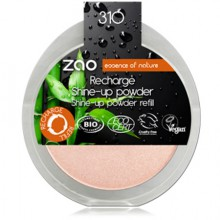 Recharge Shine Up Powder Champagne Rosé 310 - Zao Makeup
