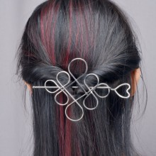 Barrette Noeud Chinois