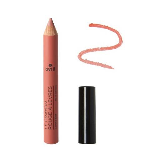 Crayon Jumbo Rouge à Lèvres Bio Rose Délicat - Avril