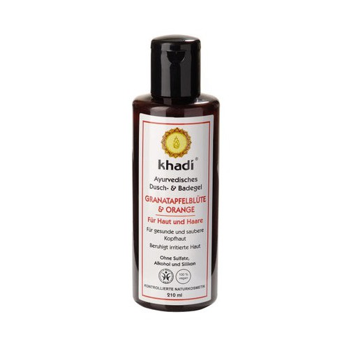Gel Douche et Bain Grenade & Orange - Khadi - MA PLANETE BEAUTE