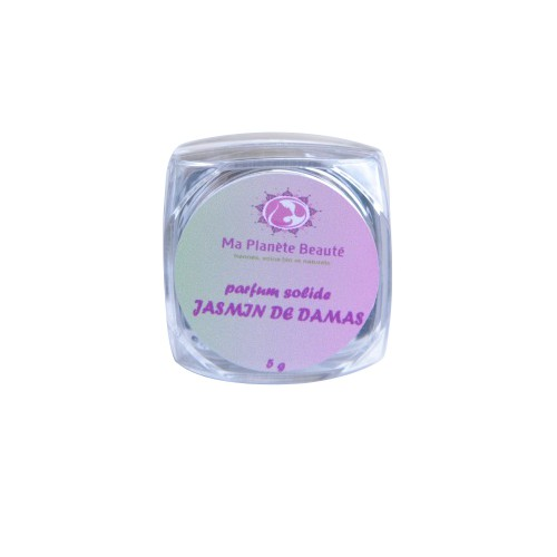 Parfum Solide Jasmin de Damas - Ma Planète Beauté