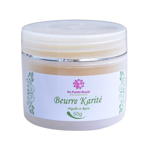 Beurre Végétal Karité, Nigelle & Ricin - Ma Planète Beauté