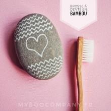 Brosse à Dents Ecologique en Bambou pour Enfant My Boo Company