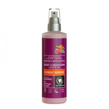 Démêlant Spray Leave-In Baies Nordiques (Vitamines & Antioxydant) 250ml - Urtekram