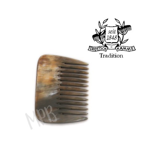Peigne Africain Corne Martin Groetsch - Cheveux bouclés, épais, crépus - MA PLANETE BEAUTE
