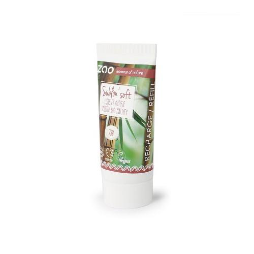 Sublim' Soft Recharge 750 (Base de Teint Lissante) - Zao Makeup - MA PLANETE BEAUTE