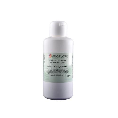 Shampoing Gel Douche Neutre Douceur et Equilibre 200ml - Bioflore - MA PLANETE BEAUTE