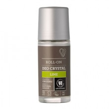 Déodorant Crystal Roll-on Citron Vert 50ml - Urtekram