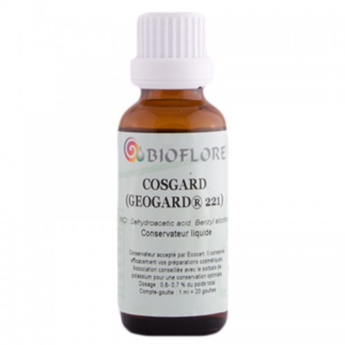 Conservateur Liquide Cosgard - Bioflore - MA PLANETE BEAUTE