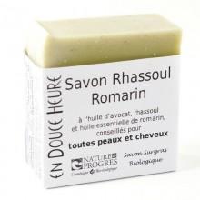 Savon Bio Rhassoul et Romarin Corps et Cheveux - En Douce Heure