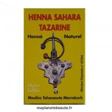 Henné Sahara Tazarine BAQ 100gr.