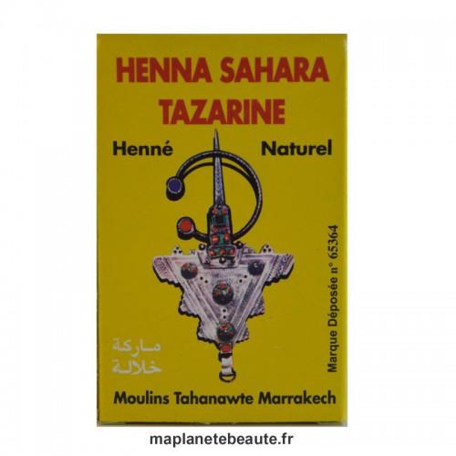 Henné Sahara Tazarine BAQ - MA PLANETE BEAUTE.