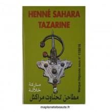 Henné Sahara Tazarine 100gr - MA PLANETE BEAUTE