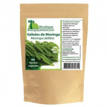 Moringa (60 gélules de 250mg) - MA PLANETE BEAUTE