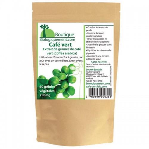 Café Vert Bio (60 gélules de 300mg)