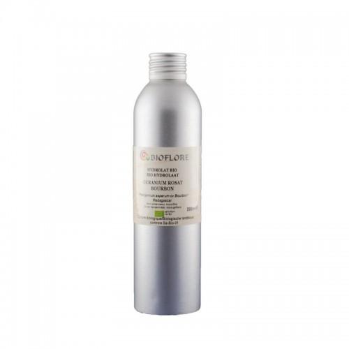 Hydrolat de Géranium Rosat Bourbon Bio 200ml - Bioflore - MA PLANETE BEAUTE