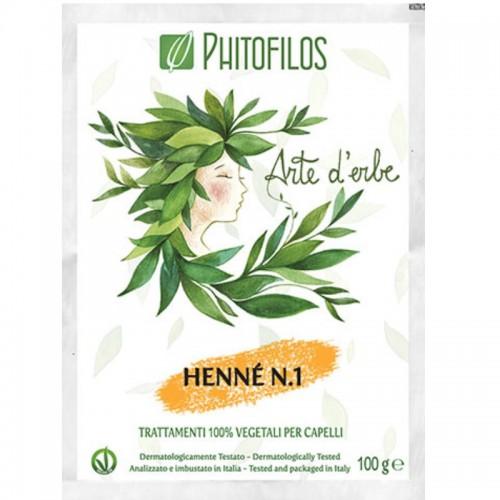 Henné N° 1 - Phitofilos - MA PLANETE BEAUTE