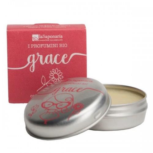 GRACE : Parfum Solide Bio & Vegan - LaSaponaria - MA PLANETE BEAUTE