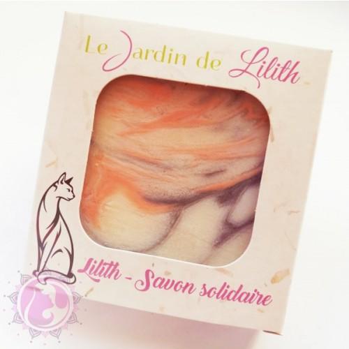 Lilith - Savon Surgras Solidaire- Le Jardin De Lilith - MA PLANETE BEAUTE
