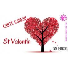 Carte Cadeau St Valentin 50€