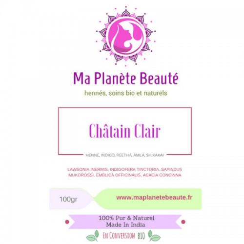 Coloration Châtain Clair (Light Brown) - MA PLANETE BEAUTE