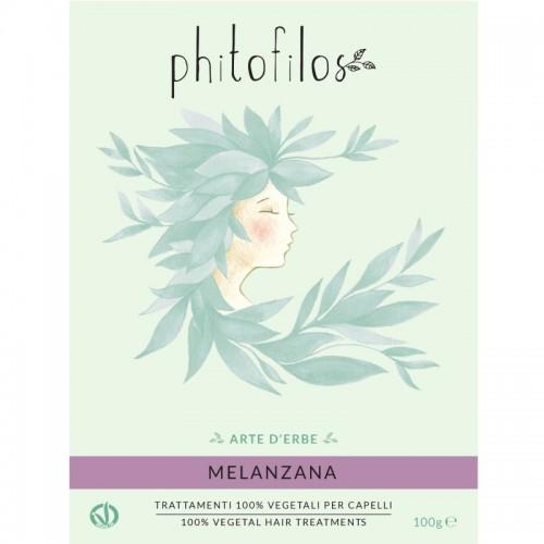 Coloration Végétale Aubergine (Melanzana) - Phitofilos - MA PLANETE BEAUTE