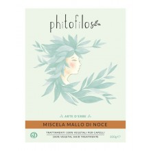 Coloration Végétale Châtain Chaud (Miscela Mallo Di Noce) - Phitofilos