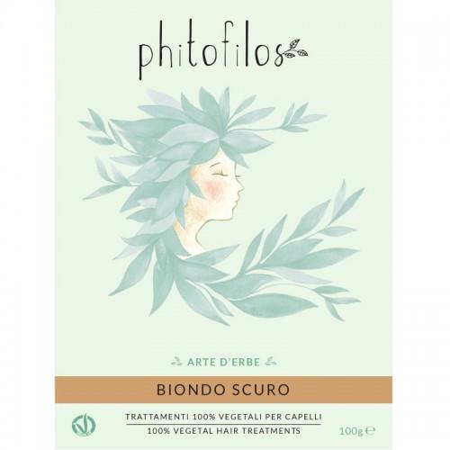 Coloration Végétale Blond Foncé (Blondo Scuro) - Phitofilos - MA PLANETE BEAUTE