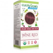 Coloration Végétale Biologique Wine Red - Cultivator's Colors From Nature - MA PLANETE BEAUTE