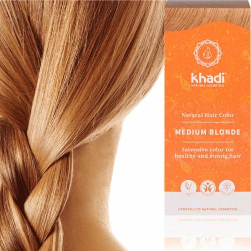 Coloration Khadi Blond Moyen - Ma Planète Beauté