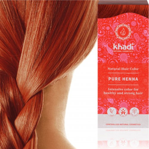 Coloration Khadi Henné Pur Rouge - Ma Planète Beauté