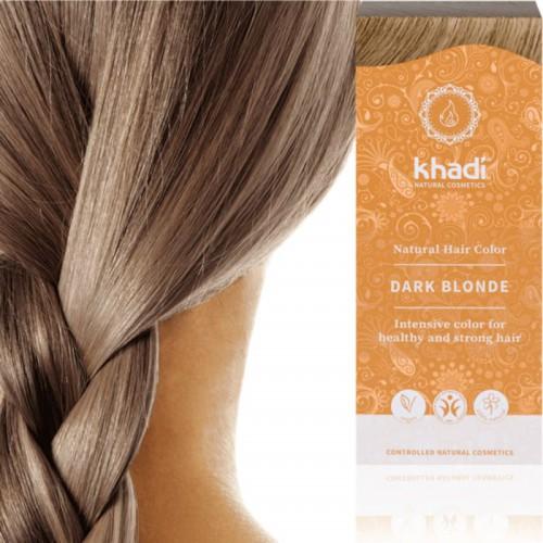 Coloration Blond Foncé Cendré Khadi Ma Planète Beauté
