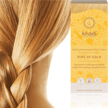 Coloration Blond Doré (Hint of Gold) - Khadi