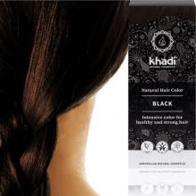 Coloration Noir Profond (Black) - Khadi