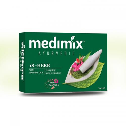 Savon Medimix Ayurvédique aux 18 Plantes - MA PLANETE BEAUTE