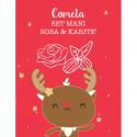"""Coffret Cadeau Vegan """"Cometa"""" Rose & Karité - LaSaponaria - MA PLANETE BEAUTE"""