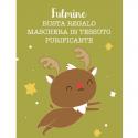 "Masque en Tissus Purifiant Vegan ""Fulmine"" - LaSaponaria - MA PLANETE BEAUTE"