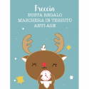 "Masque en Tissus Anti-âge Vegan ""Freccia"" - LaSaponaria - MA PLANETE BEAUTE"