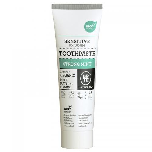 Dentifrice Menthe Forte Dents Sensibles - Urtekram - MA PLANETE BEAUTE