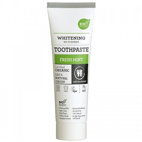 Dentifrice Menthe Fraîche - Blanchissant (Fresh Mint) - Urtekram - MA PLANETE BEAUTE