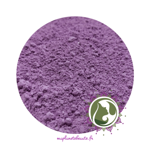 Argile Violette Surfine - MA PLANETE BEAUTE