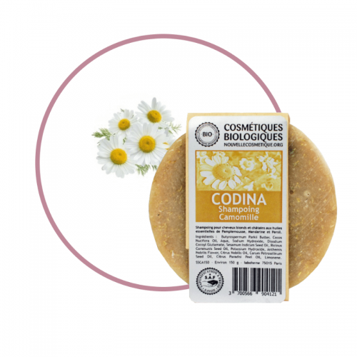 Shampoing Solide Camomille Codina