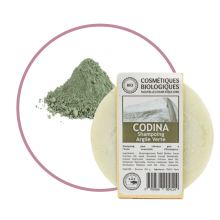 Shampoing Solide Bio Argile Verte - Codina